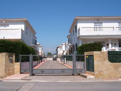 Photo for House with pool and garden in central Alcossebre, 2 mins walk to the main beach
