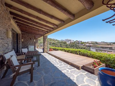 Photo for House with sea views five minutes from downtown