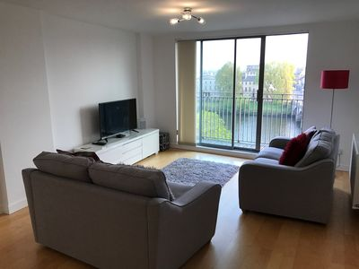 Photo for Perfect Location Glasgow City Centre Apartment with Stunning River Clyde Views