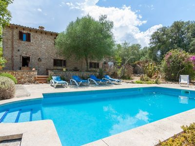 Photo for Can Gallet - Beautiful rustic villa in Costitx