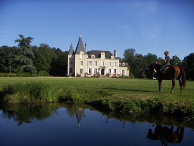 Photo for Superb Chateau in the beautiful Loire Valley, near Saumur