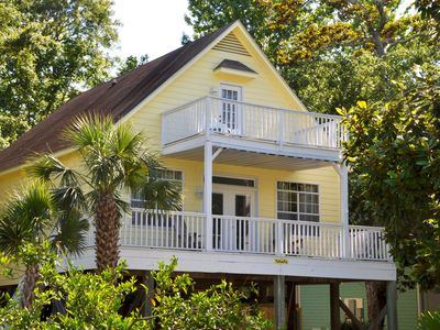 'YellowFin' House with Boat Dock & Launch on Bay, Beach Nearby