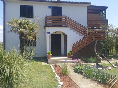 Photo for Two bedroom apartment with terrace and sea view Privlaka (Zadar)