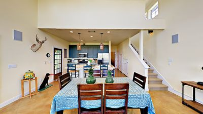 Dining - Seating for 6 in the open dining area