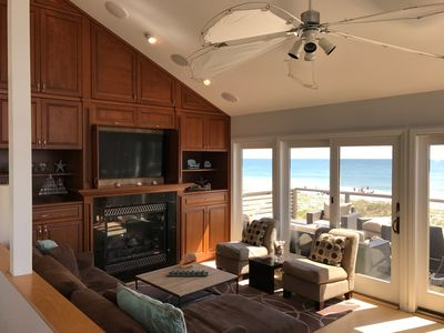 Great oceanfront location - views from inside and out!