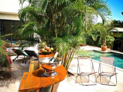 Photo for Superb villa with swimming pool and jacuzzi heated in lush greenery