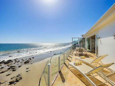 Photo for 20% OFF OPEN MAY - Beautiful Beachfront Home w/ Balcony + Endless Views