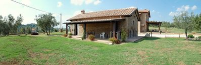 Photo for 2 bedroom Villa, sleeps 6 in Vescovile with Pool