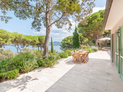 Photo for Villa Le sprizze, renovated and with sea view