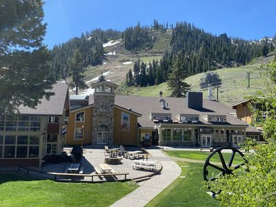 Photo for NEW LISTING! Squaw Valley Lodge:  2BR Trailside Convenience & Amenities