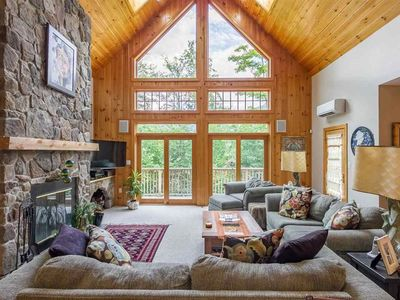 Photo for Luxury Home On Loon Mtn Home,  Spectacular Mountain Views, Pool/Spa access incl