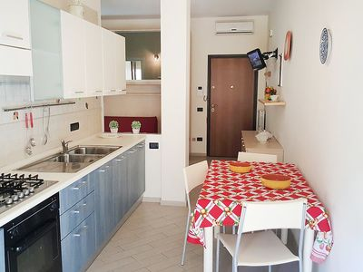 Photo for Apartment in the center of Gallipoli with Pool, Air conditioning, Balcony, Washing machine (447183)