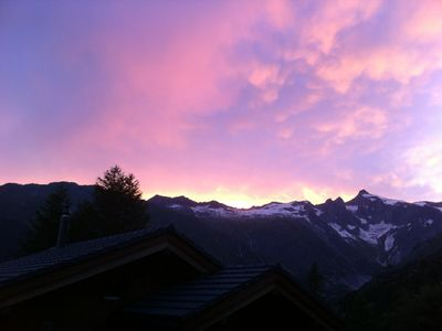 Photo for Windows in the mountains - 3 1/2 rooms apARTment ****, Top of Obergoms 1600mü.M.