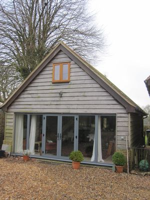 Photo for Architect Designed Cottage, Privett, nr Petersfield, Stunning Rural location