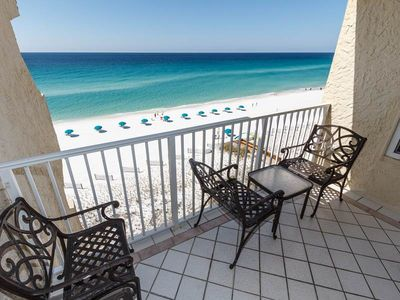 Photo for 7th Floor Bright Gulf Front Condo w/ Gulf Views, Close To Entertainment