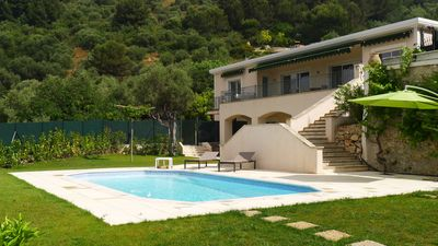 Photo for Superb Villa On The Heights Over Villefranche Sur Mer With Private Swimming Pool