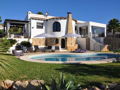 Photo for Atmospheric holiday villa on Costa Blanca with magnificent view and private pool