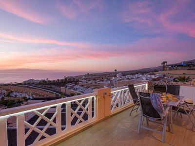 Photo for INCREDIBILE VIEW! Romantic Apartment! HEATED POOL