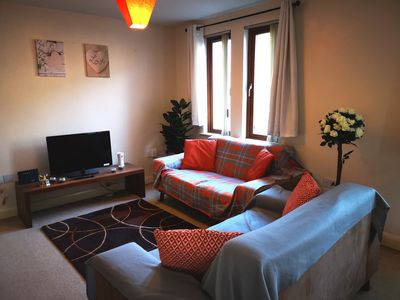Photo for Spacious modern 2 bed Apt in Belfast city center