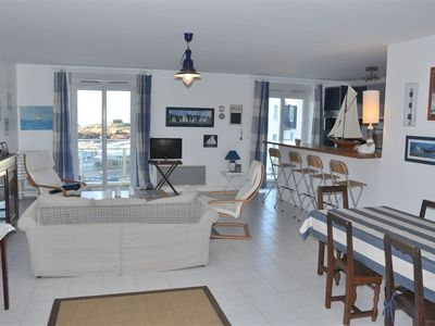 Photo for Beautiful apartment BEAUTIFULL SEA VIEW in TREGASTEL
