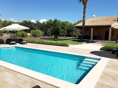Photo for 3BR Cottage Vacation Rental in Llubí, Illes Balears