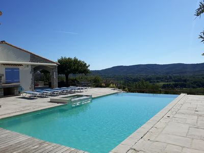 Photo for PROMO JUNE Charming villa comfort 8/10 pers heated pool-Wifi-