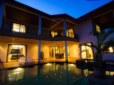 Photo for 5 Bed/6 bath Luxury Pool Villa !!