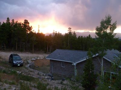 Photo for Rocky Mountain Getaway- Divide Views, Hot Tub, Skiing, Close to Everything