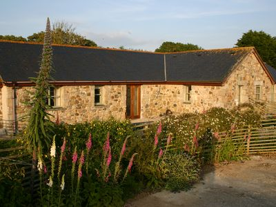 Photo for Barn Conversion, in peaceful location close to secluded coves, Coverack, Lizard