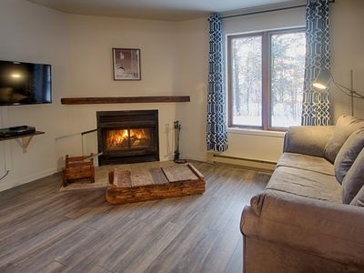 Photo for 2 bedroom condo view of mont ste anne