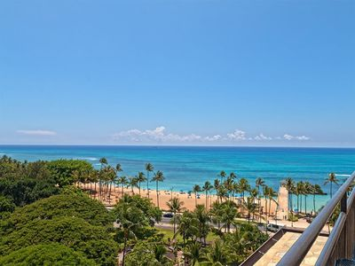 Photo for Stylish Studio w/Sundeck Access, AC, Kitchenette, WiFi+FREE Parking–Waikiki Grand 1004
