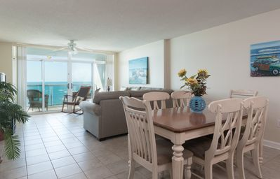 Photo for Blue Water Keyes - 1106 Nicely furnished Oceanfront 3 bedroom condo!