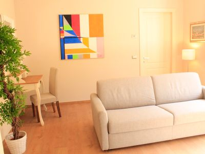 Photo for Apt on piazza napoleone, free fast wifi, aircon and floor heat