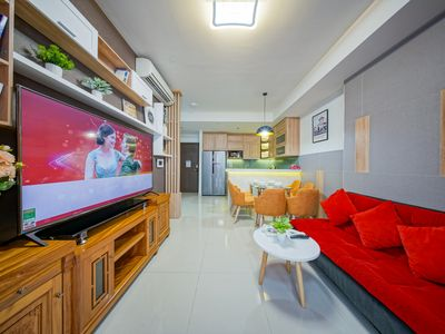 Photo for Sweet&Cozy Home***Free Pool, Gym***Rooftop