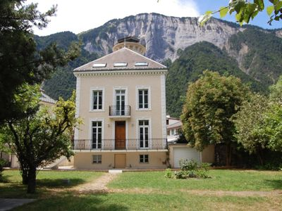 Photo for Beautiful House with large garden in Bourg d'Oisans, foot of Alpe d'Huez.