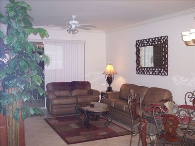 Photo for Beautifully decorated condo on 3td floor overlooking 18th hole