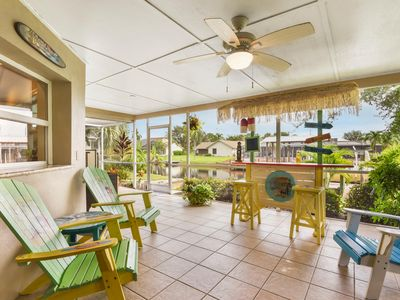 Photo for Mini Margaritaville ... Waterfront Home With Boat Lift