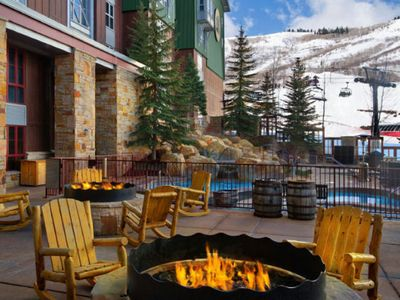 Photo for Marriott Mountainside at Park City Ski in/Ski out, fully equipped villa