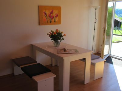 Photo for Apartment for 2 persons at the edge of the forest in the beautiful Weserbergland