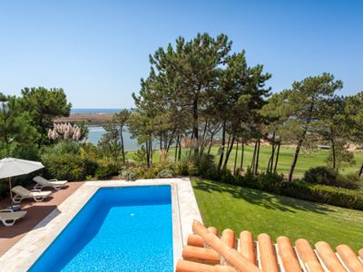 Photo for Luxury villa with stunning sea views. Walk to Quinta do Lago beach PV16