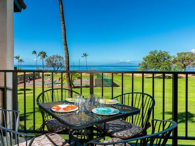 Photo for New Listing!  Direct BeachFront Ocean Views and Amazing Sunset Views!