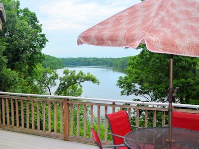 Galena's Premier Lake View 6 B/6 B Executive Home (rent as 4, 5 or 6 bedroom)