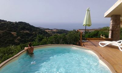 Photo for House With Private Pool And Tennis Court. Sea View