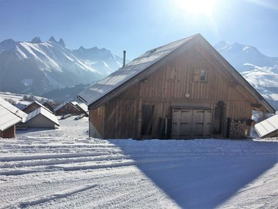 Photo for Chalet at the foot of the slopes of Les Sybelles