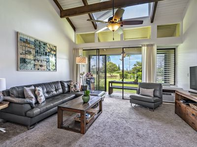 Photo for Prime Location At Kuilima West - 1st Tee Modern, Cozy, Quick walk to Beach!!