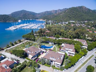Photo for Seafront Luxury Holiday Home with magnificent view of Gocek Bay