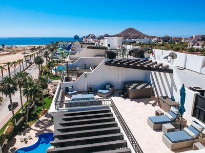 Photo for CABO PENTHOUSE CONDO -Rooftop deck with Jacuzzi