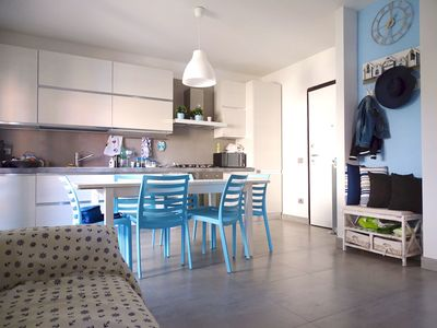 Photo for Casa Azzurra - ground floor apartment with large terrace