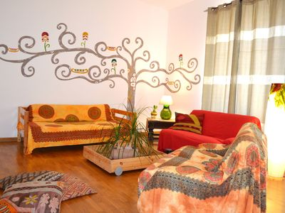 Photo for Large apartment at the center of Palermo; free wifi; free parking