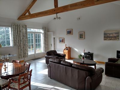 Spacious accommodation all on one level with easy access from the parking area